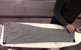 Как нужно правильно гладить брюки со стрелками