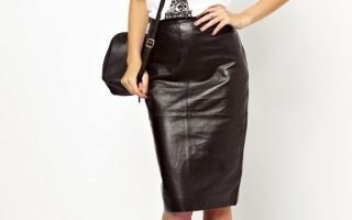 Как погладить (распрямить) кожаную юбку?