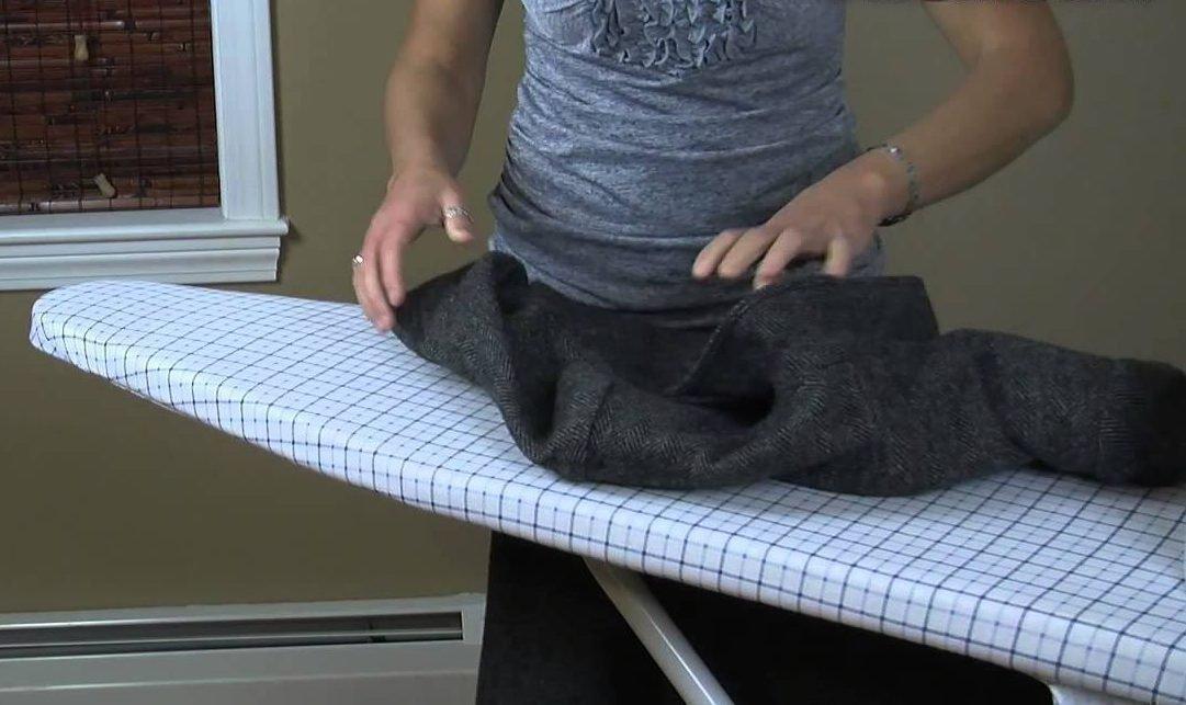 Как в домашних условиях погладить пиджак