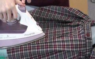 Как правильно погладить плиссированную юбку?