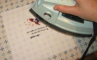 Как правильно гладить ручную вышивку крестиком
