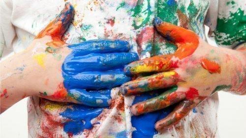 Как убрать пятна краски