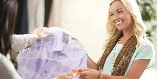 Одежда в химчистке