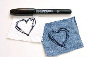 Оттираем маркер с любимых вещей