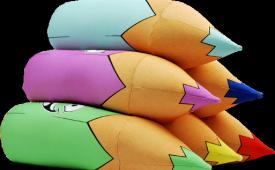 Как правильно постирать антистрессовые подушки