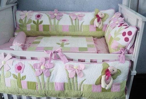 Стирка бортиков для кроватки