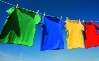 Как сохранить первоначальный вид футболки после стирки