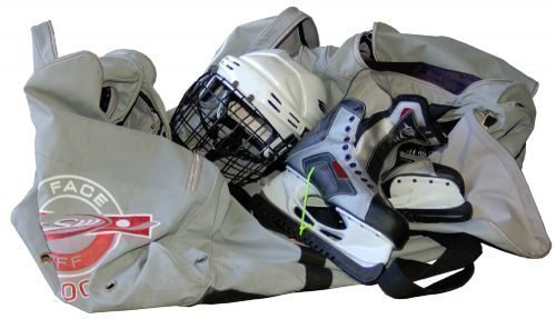 Стирка хоккейной формы