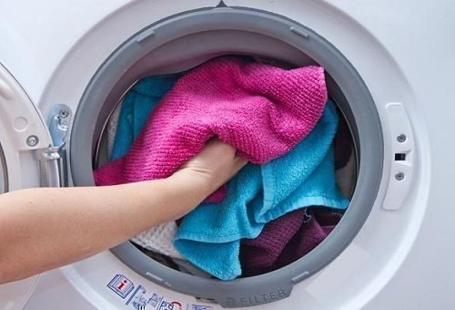 Стирка махровых полотенец в машинке