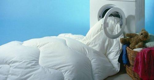 Стирка синтепонового одеяла в машинке