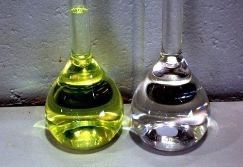 Бензин и уайт-спирит