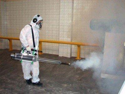 Дезинфекция туманом от тараканов