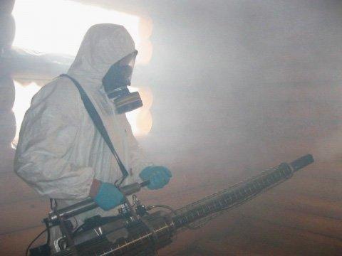 Горячий туман против насекомых