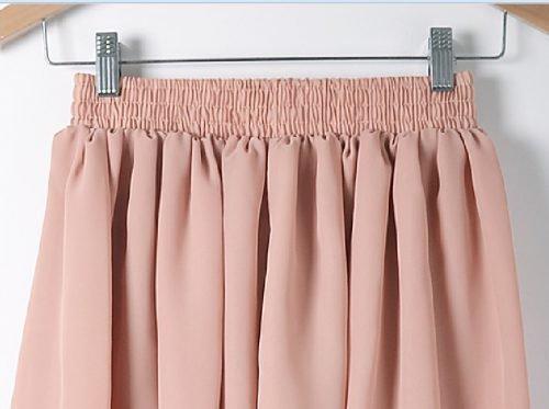 Как погладить юбку из шифона