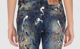 Чем и как оттереть пятна от краски с джинсов?