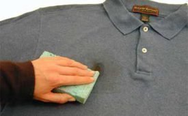 Как самостоятельно вывести пятна от масла с одежды?