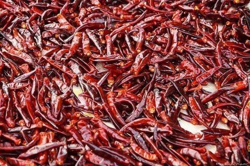 Сухой красный перец