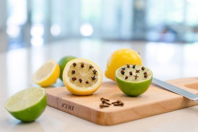 Гвоздика и лимон