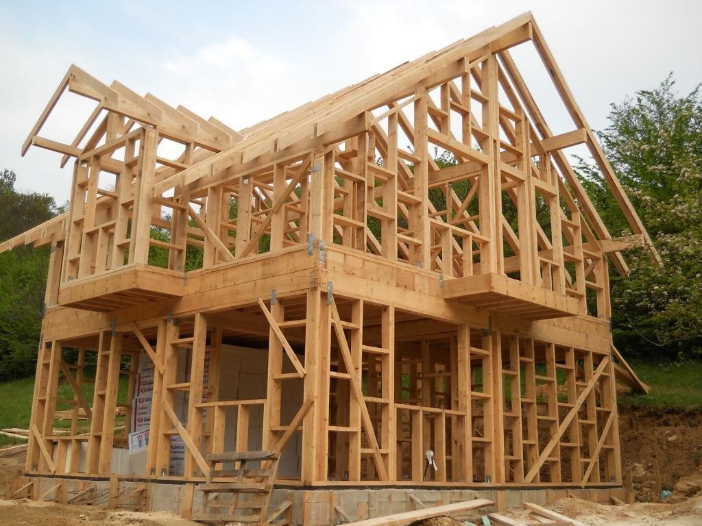 Каркасный деревянный дом своими руками фото