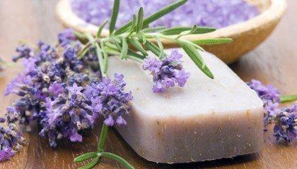 Мыло с лавандой
