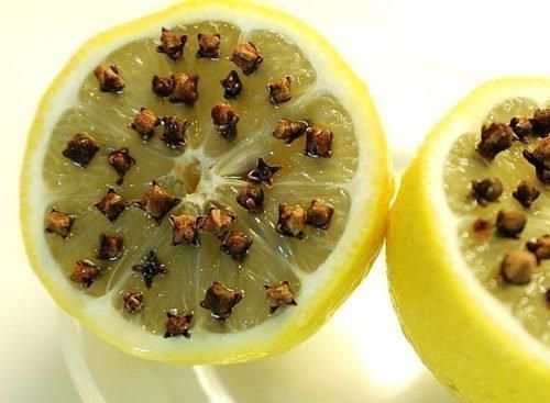 Лимон и гвоздика от комаров