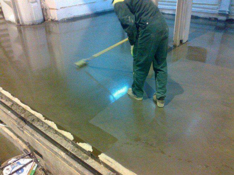 ремонт бетонных полов полимерных составов расценки получения пароля этой
