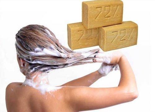 Хозяйственное мыло от вшей