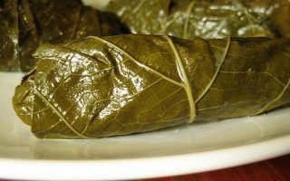 Рецепты для заготовки виноградных листьев
