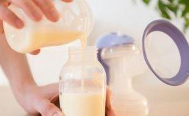 Условия хранения сцеженного грудного молока