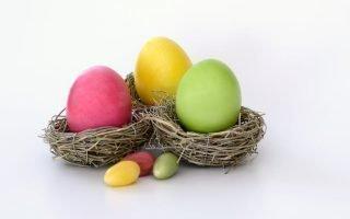Условия хранения пасхальных яиц