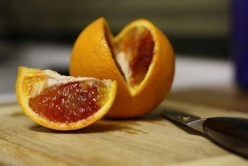 Разрезанные фрукты