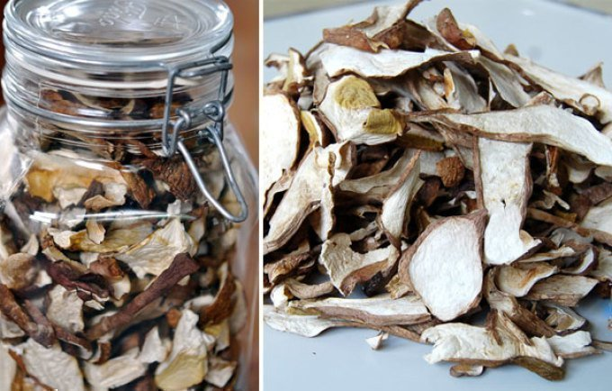 Как хранить белые грибы в домашних условиях 311