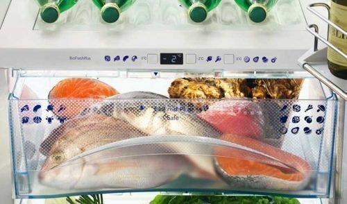 Хранение рыбы в холодильнике